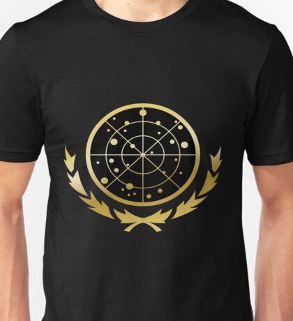 United Federation of Planets Logo: Gold Version Unisex T-Shirt