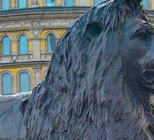 The British Lion Sticker