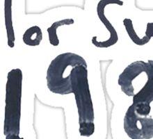 taylor swift 1989 Sticker