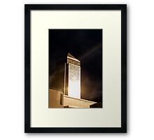 All That Glitters Is Gold Framed Print