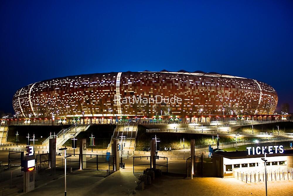 FNB Stadium - National Stadium (Soccer City) by RatManDude
