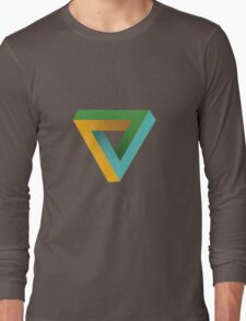 Penrose Triangle Long Sleeve T-Shirt