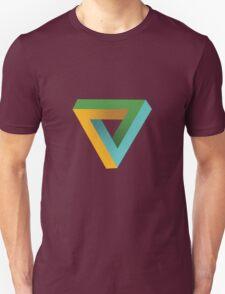 Penrose Triangle Unisex T-Shirt