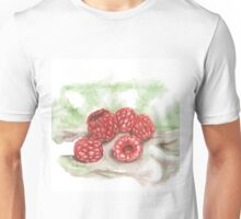 Ripe Red Radberries 2 Unisex T-Shirt