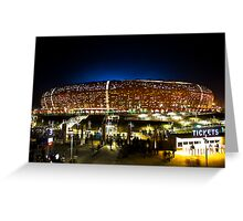 FNB Stadium - National Stadium (Soccer City) - The Crowd Greeting Card