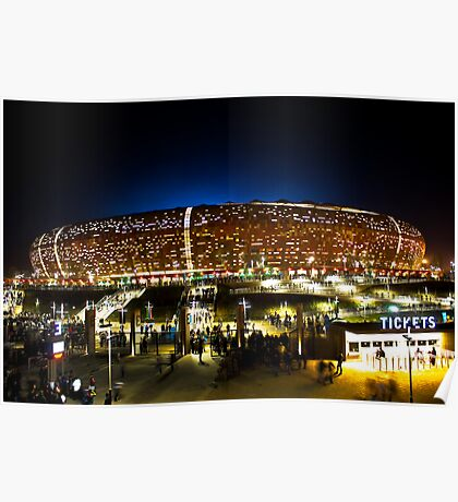 FNB Stadium - National Stadium (Soccer City) - The Crowd Poster