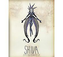 Tim Burton Shiva Photographic Print