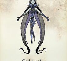 Tim Burton Shiva by zerojigoku