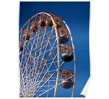 Big Wheel, Blackpool Central Pier Poster