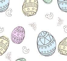 Doodle Easter Egg by zerojigoku