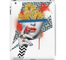 Flower Pot Head iPad Case/Skin