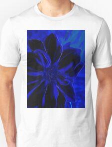 Blue Royal Flower Tee Unisex T-Shirt