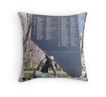 Monument to Fallen Law Officers Throw Pillow