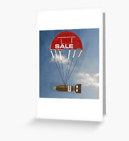 reality hovers' Greeting Card