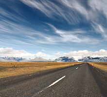 Emptiness, southern Iceland by James  Monk