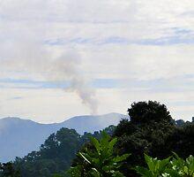 Active Volcano, Costa Rica by Al Bourassa