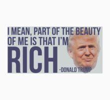 Donald Trump RICH Sticker by mcbobgorge