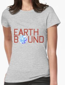 EarthBound Beginnings - Title Screen Womens Fitted T-Shirt