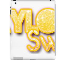 taylor swift glitter iPad Case/Skin