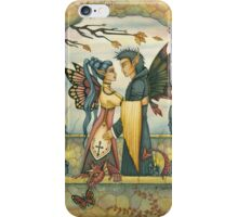 Autumn Fairies and Baby Dragon iPhone Case/Skin