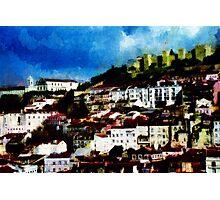 View of Lisbon Photographic Print