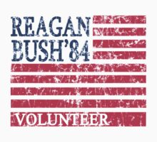 Reagan Bush Volunteer 84 Baby Tee
