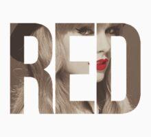 red Kids Tee