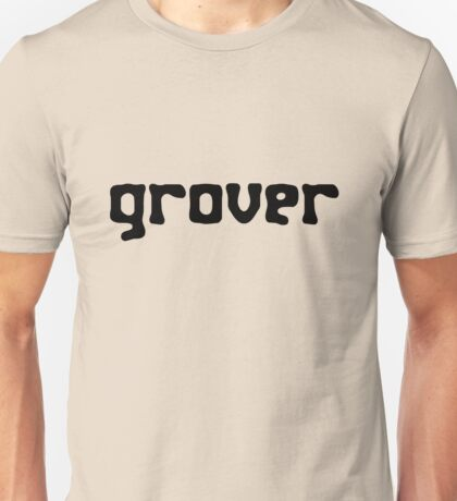 Straight up grover geek funny nerd Unisex T-Shirt
