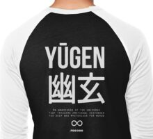 Yūgen (幽玄) - White Men's Baseball ¾ T-Shirt