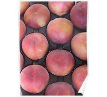 Plentiful Peaches Poster