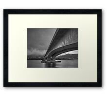 Bowen Bridge, Hobart Framed Print