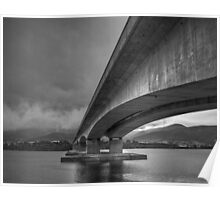 Bowen Bridge, Hobart Poster