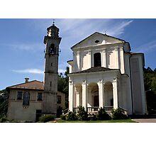 Santuario Madonna del Sasso Photographic Print