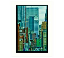 View from an office Art Print