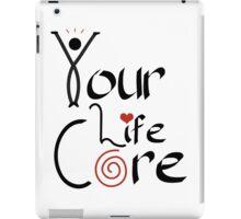 YourLifeCORE Logo iPad Case/Skin