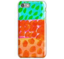 Painted Blobs iPhone Case/Skin