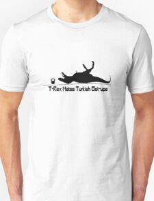 T rex hates turkish get ups geek funny nerd T-Shirt