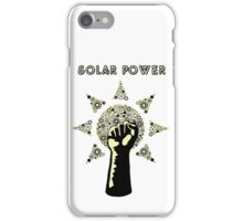 Solar Power to the People! iPhone Case/Skin
