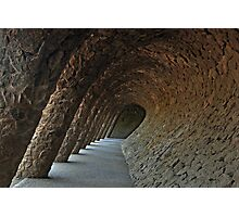Parc Guell Barcelona Spain Photographic Print