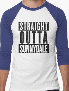 Sunnydale Represent! Men's Baseball ¾ T-Shirt