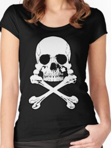 Skull 'n Crossbones Women's Fitted Scoop T-Shirt