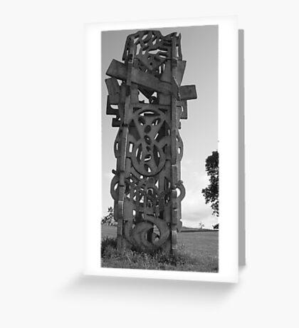 PT Sculpture Greeting Card