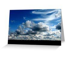 Clouds Make Me Smile Greeting Card
