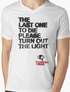 Children of Men - The Last One To Die Mens V-Neck T-Shirt