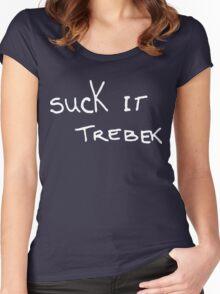 Suck It Trebek Women's Fitted Scoop T-Shirt