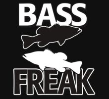 Bass Freak T-Shirt Kids Clothes
