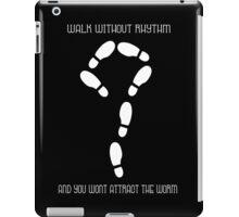 Walk Without Rhythm(White) iPad Case/Skin