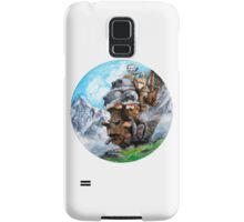 Howl's Moving Castle (Circle Scenery)  Samsung Galaxy Case/Skin