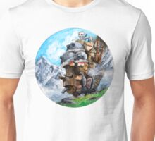 Howl's Moving Castle (Circle Scenery)  Unisex T-Shirt