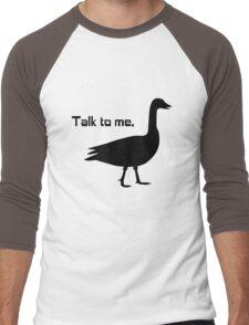 Talk to me goose geek funny nerd Men's Baseball ¾ T-Shirt